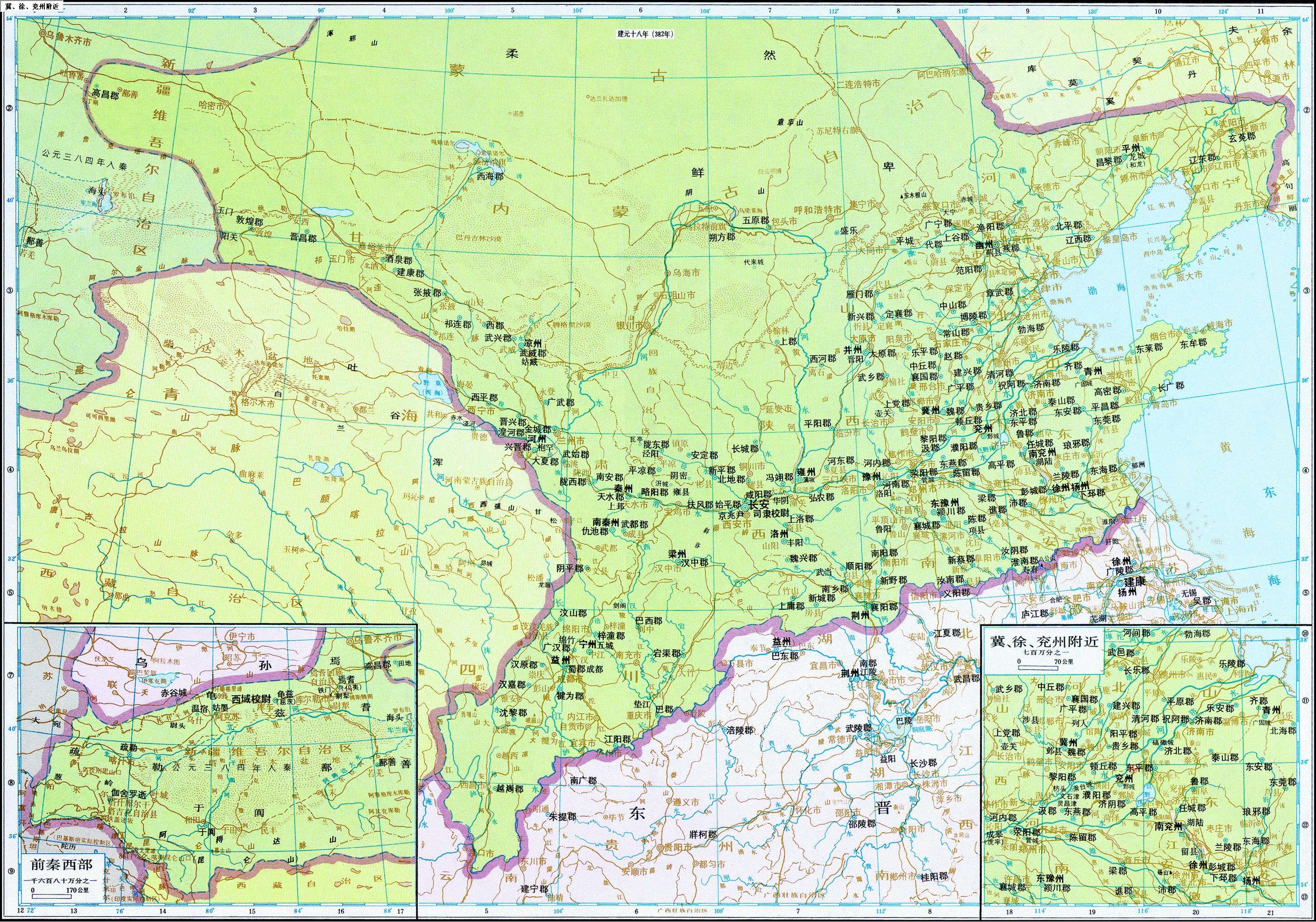 兖州城区街道地图